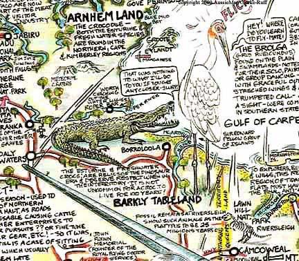 arnhem land northern territory on the australian maps aussie maps